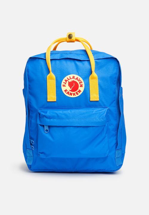 d558fbd65 Kanken classic - Un blue / warm yellow Fjallraven Kånken Bags ...