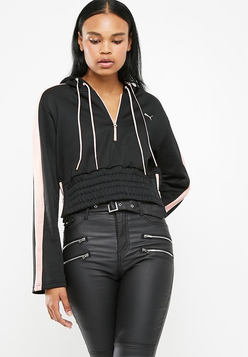 44e5e0256 En pointe Savannah hoodie - Black PUMA Hoodies, Sweats & Jackets ...
