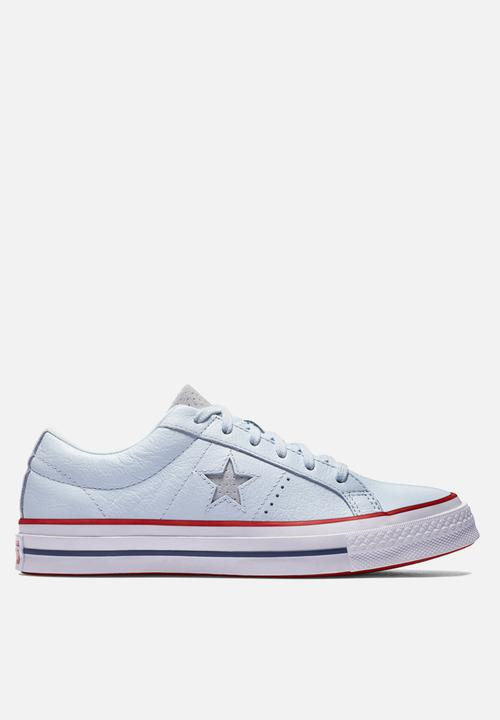 limpiar Destilar Impermeable  Converse One Star -160626C - Blue Tint / Gym Red / White Converse Sneakers    Superbalist.com
