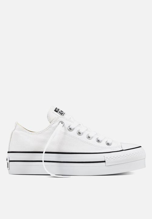 c1156aa592bb12 Converse CTAS Platform OX - 540265C - White Converse Sneakers ...