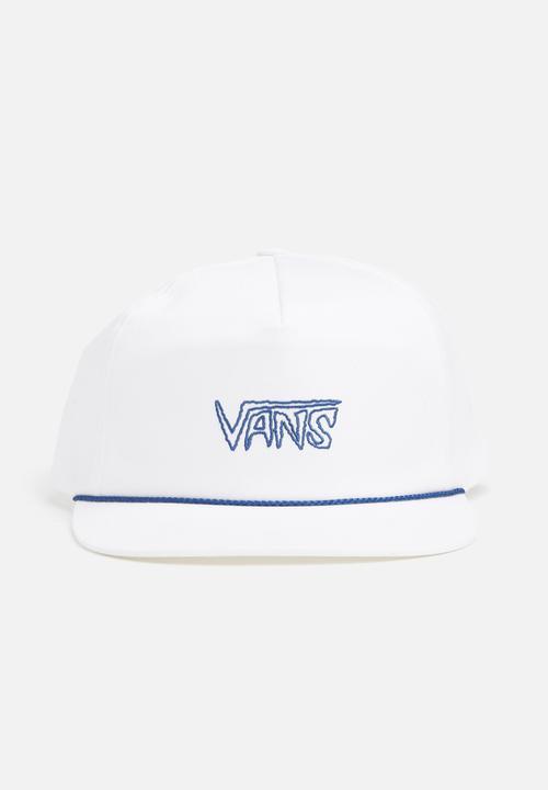 590ee373b03 Vans radness shallow unstructured cap - white Vans Headwear ...