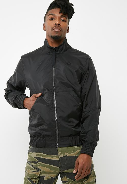 8cf763b6a5 Deline track overshirt jacket- black G-Star RAW Jackets ...