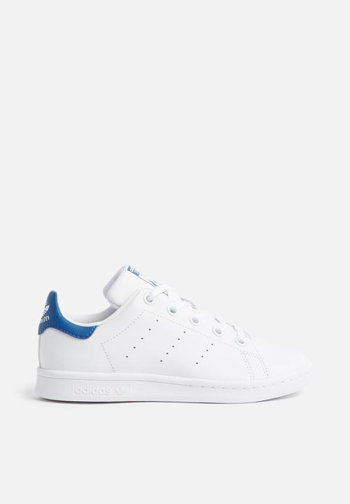 31b661919c04 Kids stan smith c - white white blue adidas Originals Shoes ...