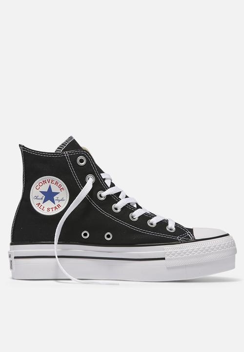 049a27510641 Converse CTAS Hi - 540169C - Black Converse Sneakers