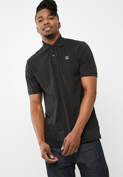 2db9e350588a9 Dunda polo - black G-Star RAW T-Shirts   Vests   Superbalist.com