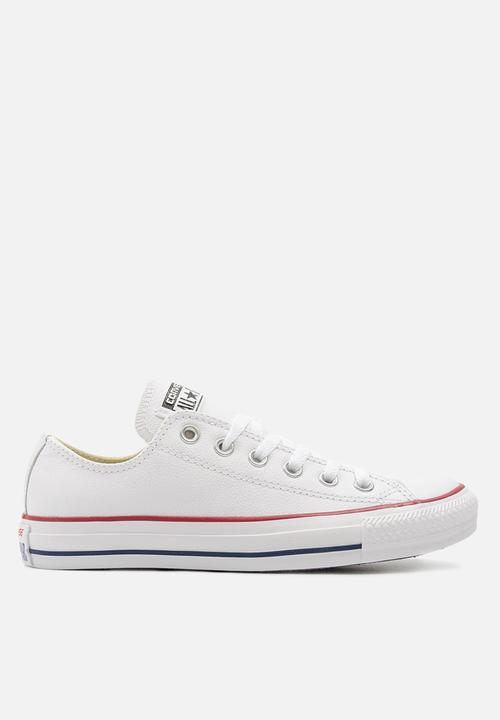 845576297d4 Converse CTAS OX Leather - White Converse Sneakers