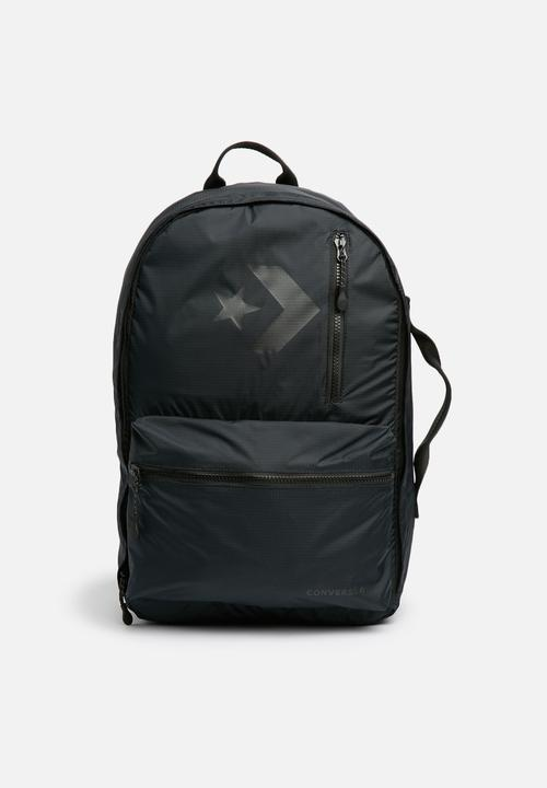 7abe468dc4f3 22L Converse backpack - black Converse Bags   Wallets