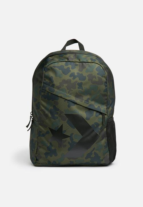 1a765f31bb Speed backpack star chevron camo - green Converse Bags   Wallets ...
