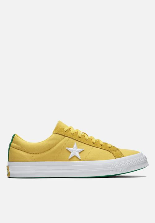 One Star - OX - Desert Gold White Green - 160596C Converse Sneakers ... 6fbdc9414