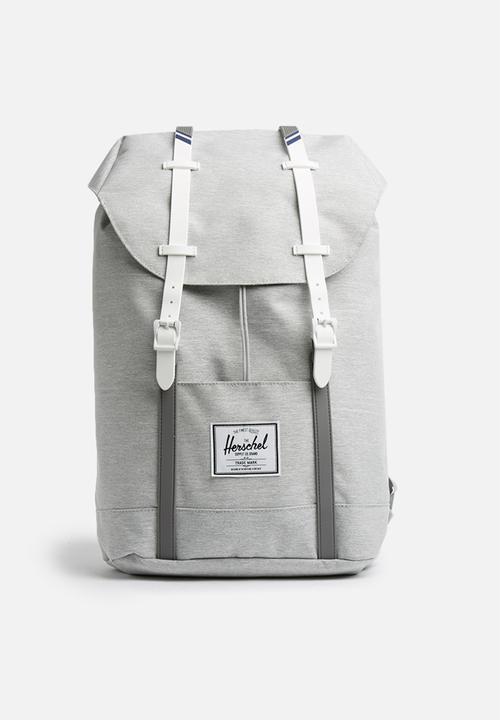 Retreat backpack-Light Grey Herschel Supply Co. Bags   Wallets ... 7f29f2fe81ee4