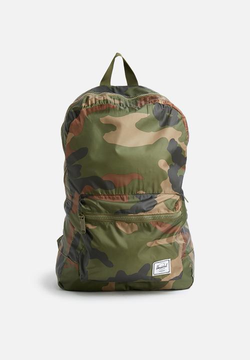 Packable daypack - camo Herschel Supply Co. Bags   Wallets ... c60d831de5