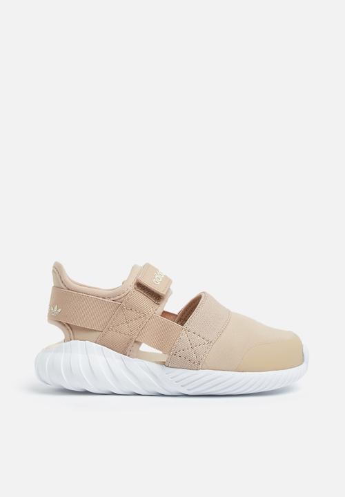 neonati doom sandalo che ashpea / bianco originali scarpe adidas