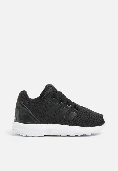 e069e18bf6b1f Infants ZX Flux I - black white adidas Originals Shoes