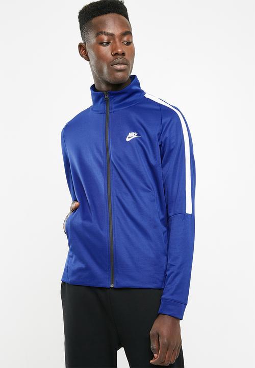 44f9636ba58bb Nsw N98 jacket tribute - blue Nike Hoodies, Sweats & Jackets ...