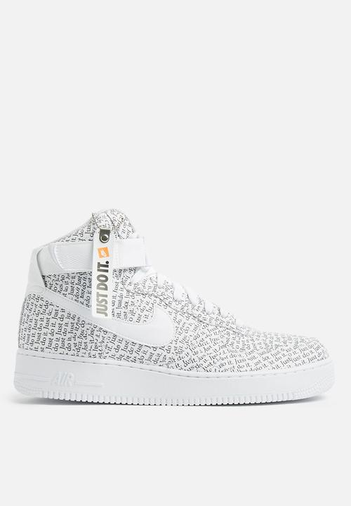 03f9e921cc7 Nike Air Force 1 High LX - AO5138-100 - White   Black Nike Sneakers ...