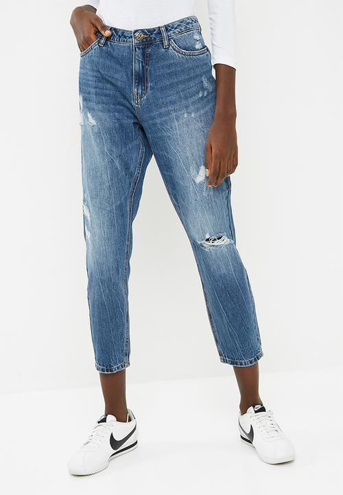 doppelter gutschein großer Lagerverkauf Farbbrillanz Tonni boyfriend jeans - blue