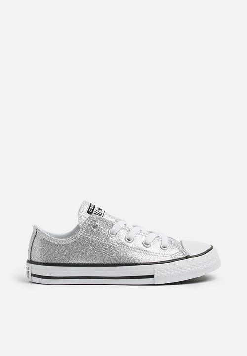 3467b93e7018 Chuck Taylor all star - ox - silver - junior Converse Shoes ...