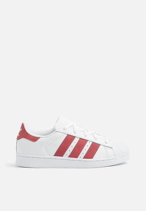 online store 76e23 7dc65 adidas Originals - Kids superstar c - white   pink
