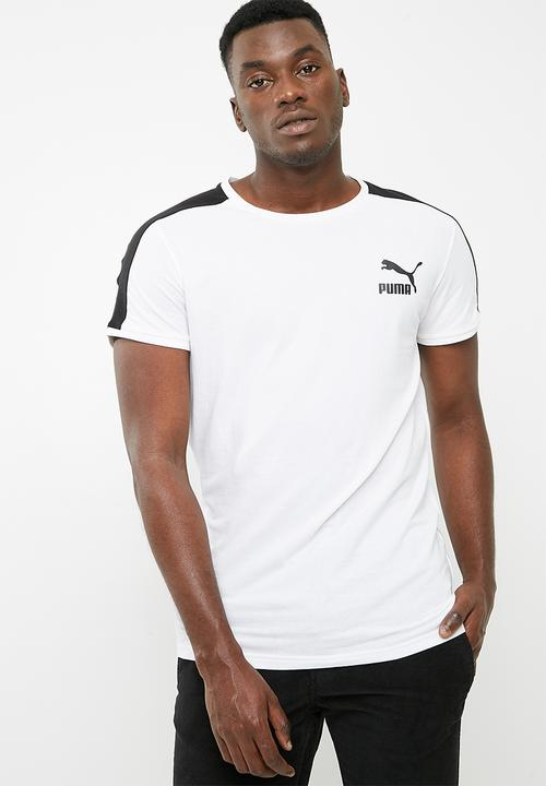 6c4f7879a1d Classic T7 tee slim Puma - white PUMA On Sale | Superbalist.com