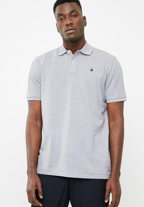 29942f6a822 Dunda polo - grey heather G-Star RAW T-Shirts   Vests