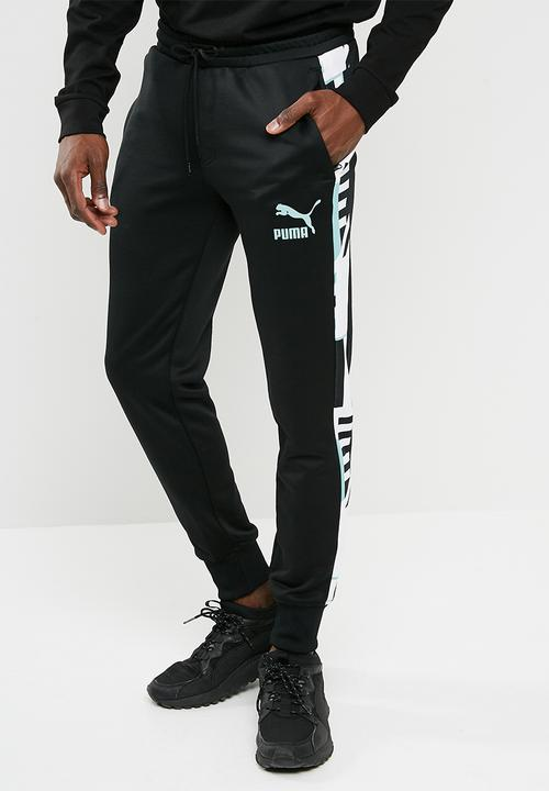 536c4bbb074353 Archive T7 Track Pants -Puma /Black-AOP in PUMA Sweatpants & Shorts ...