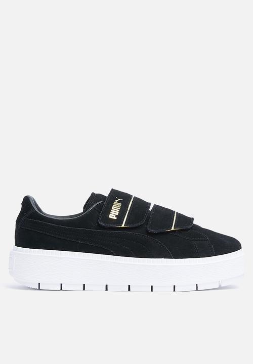 f002437c831b30 Platform Trace Strap Wn s - 366709 02 - BLACK PUMA Sneakers ...