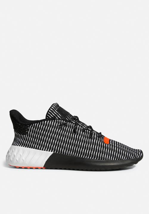 adidas Originals Tubular Dusk - core black   ftwr white   solar red ... 30fa1e40d