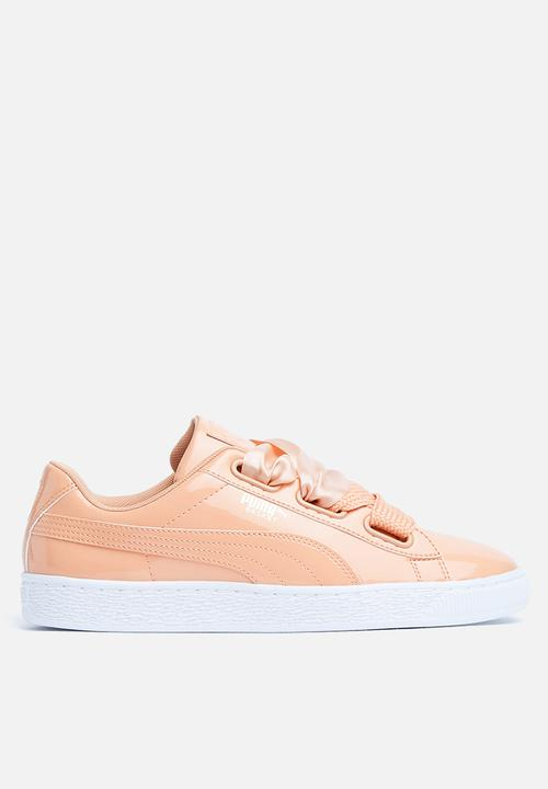 3f3637ffd86fe8 Basket Heart Patent Wn s - 363073 16 - DUSTY CORAL PUMA Sneakers ...