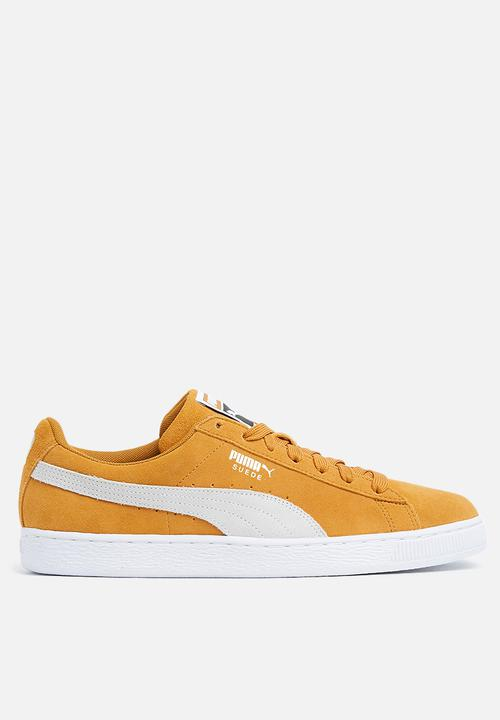 Suede Classic - 365347 31 - BUCKTHORN BROWN WHITE PUMA Sneakers ... c5666db53