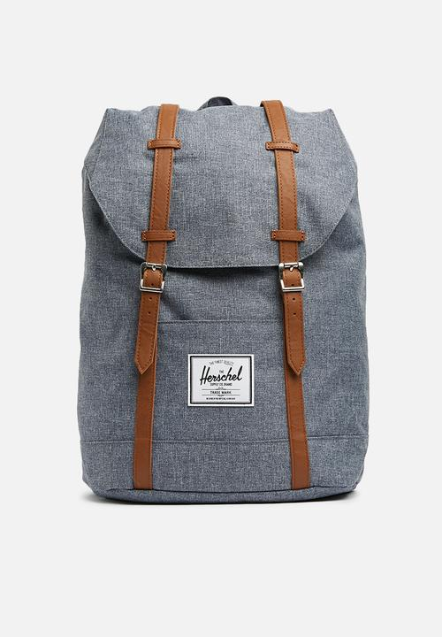 Retreat backpack - chambray Herschel Supply Co. Bags   Wallets ... bb4bb3d8a3