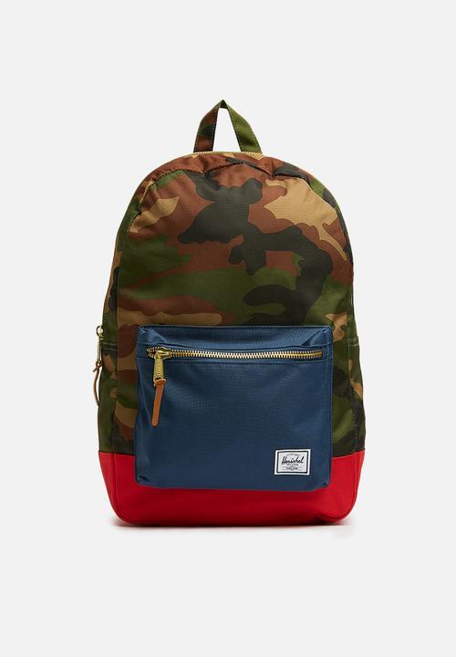 2e747899eddfff Settlement backpack - camo Herschel Supply Co. Bags & Wallets ...