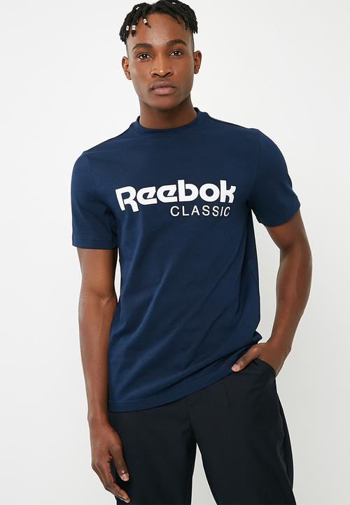adbb983940040b Reebok CL Tee - Collegiate Navy Reebok Classic T-Shirts ...