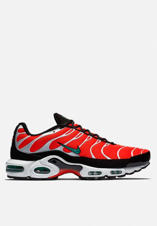 new york 36231 2d5a2 Nike Air Max Plus - Team Orange / Neptune Green / White