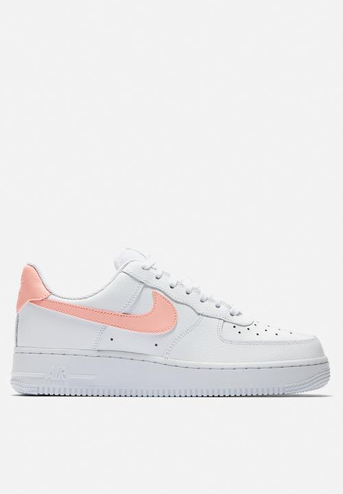 ceb1cb5767d12 Women's Nike Air Force 1 '07 - AH0287-102 - White / Oracle Pink Nike ...