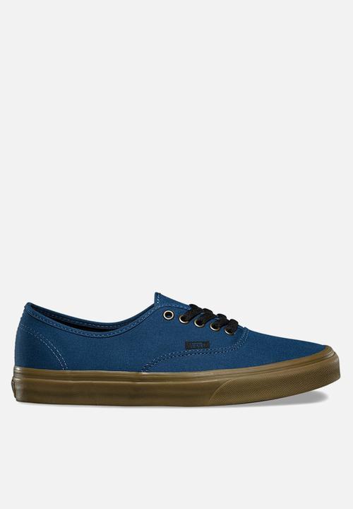 c205f8906c Vans Authentic Gum outsole - dark denim black Vans Sneakers ...
