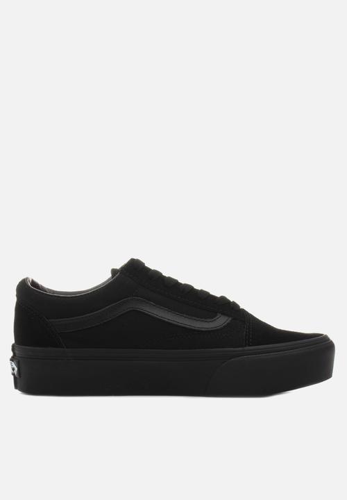 05dbe07332a4 Vans Old Skool Platform - black Vans Sneakers