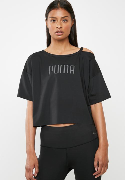 Explosive cutout tee Puma - black PUMA T-Shirts  8acc4055163f