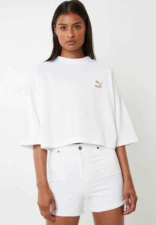 Retro top Puma - white PUMA T-Shirts