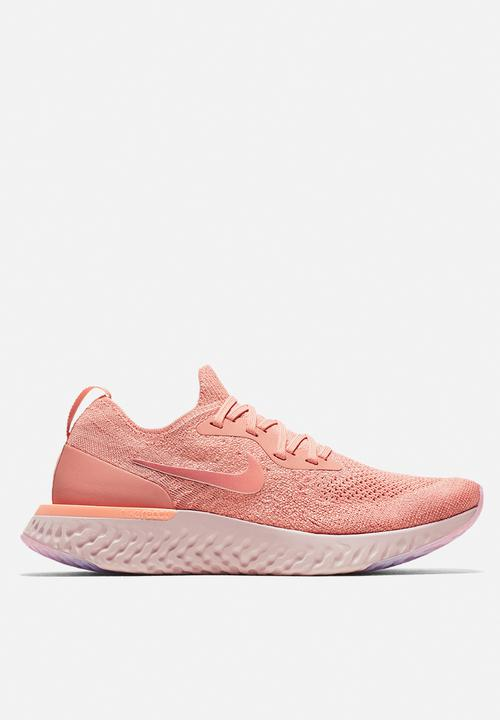 d672c7cce1863 W Nike Epic React Flyknit - AQ0070-602 - Rust Pink   Tropical Pink ...