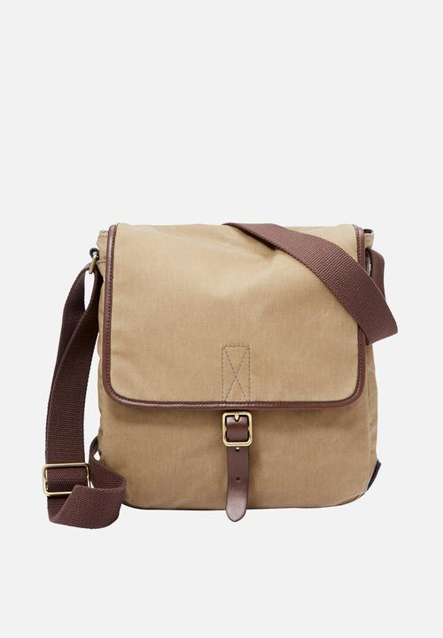 94bc847cf Buckner NS city - beige & brown Fossil Bags & Wallets | Superbalist.com