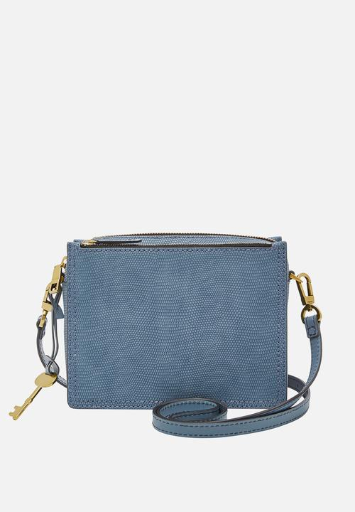 5434a840ad66 Campbell crossbody bag - faded indigo Fossil Bags   Purses ...