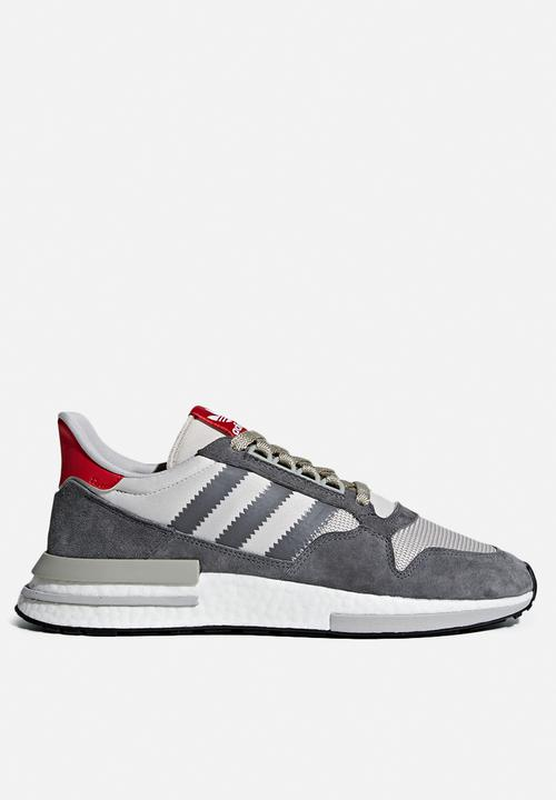 competitive price 6f92c 7cfbf adidas Originals - ZX 500 RM - Grey   White   Scarlet