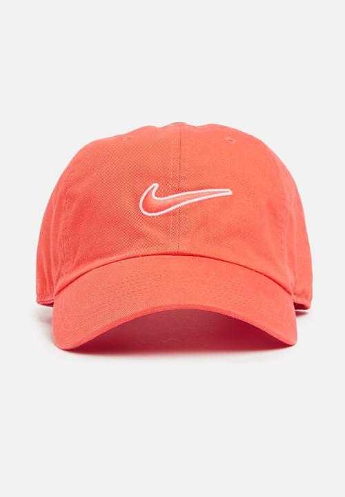 new style 8c01f de605 Nike - H86 Cap Essential - coral