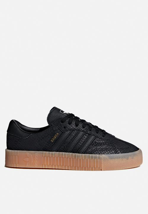 643ce83ca3be W Sambarose - core black core black  gum 3 adidas Originals Sneakers ...
