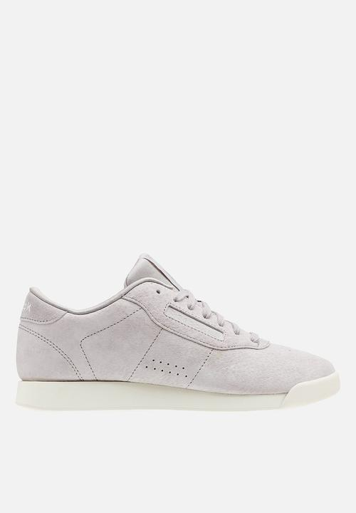573adfc9a648 Princess leather - Perfs - whisper grey chalk Reebok Classic ...