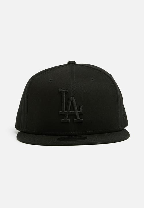 689f748ee26 9Fifty League Essential-LA Dodgers cap -black New Era Headwear ...