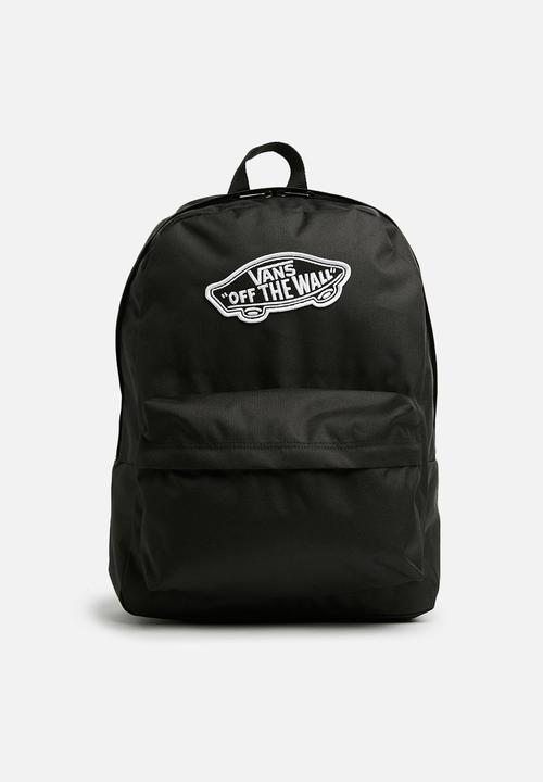 3a4f815e5d Realm Backpack - Black Vans Bags   Wallets