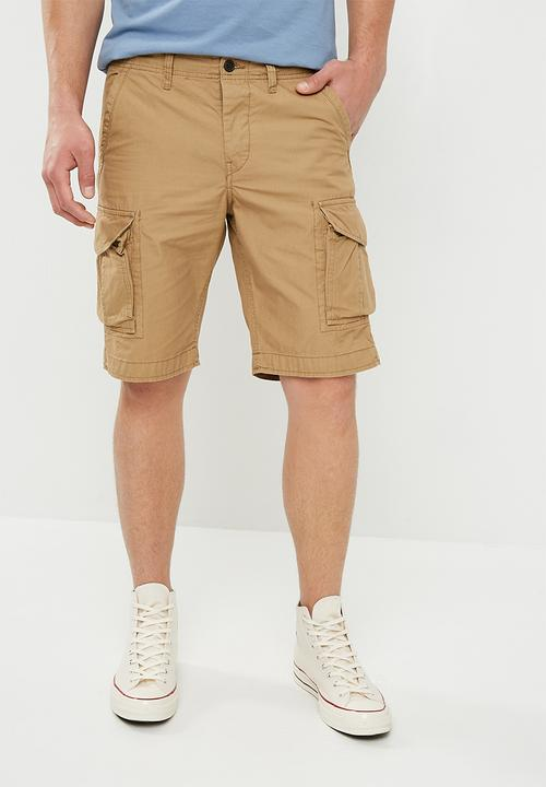 5b85a24be0cbd Preston Cargo Shorts- neutral Jack & Jones Shorts | Superbalist.com