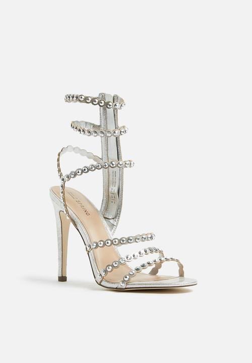 b62f642d18e Malenia stiletto heel - silver Call It Spring Heels | Superbalist.com