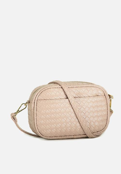 5f3310b6f45a Cameron cross body bag-dusty rose woven Cotton On Bags   Purses ...